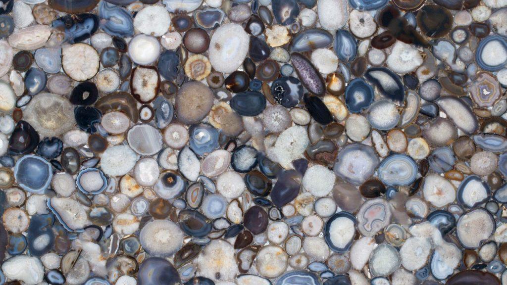 Natural Agate Pedra Preciosa