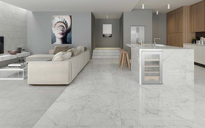 Cores de mármores para decoração - Marina Mármores